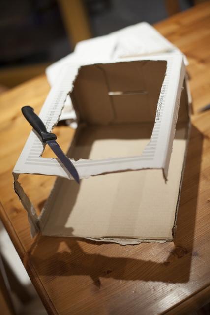 Préparation de la boîte à lumière - étape 2