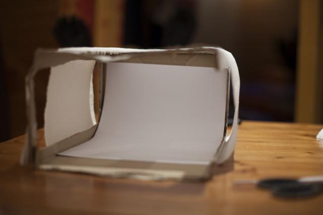 Bricolage d'une boîte à lumière