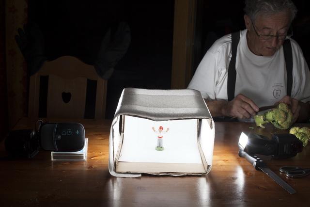 Vue d'ensemble de la boîte à lumière prête à l'emploi