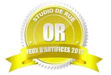Medaille d'or concours photo studio de rue