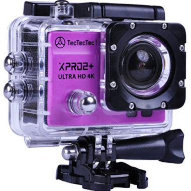 -Nouveau- TecTecTec Action Cam XPRO2+ Ultra HD 4K Camera Wifi Sport etanche @ Amazon.fr