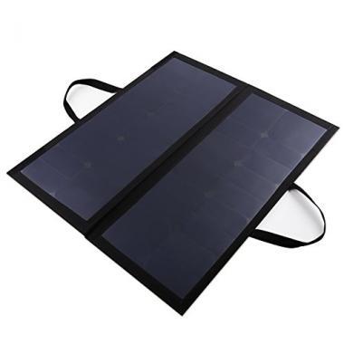 AUKEY Panneaux Solaires Sunpower, 60W 12V 5A, Charge Batterie 12V de Voiture ou  @ Amazon.fr