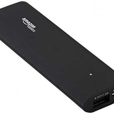 amazonbasics batterie externe portable 3000mah fotoloco fotoloco. Black Bedroom Furniture Sets. Home Design Ideas