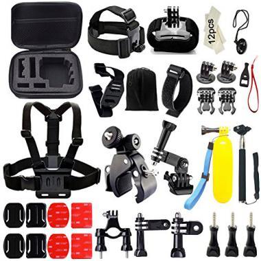 Iextreme Kit d'accessoires pour GoPro Hero 5 4 3+ 3 2 1 SJ4000 SJ5000 Xiaomi Yi @ Amazon.fr