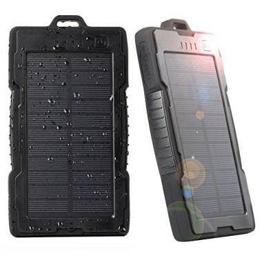 NexGaget Batterie Solaire-13000 mAh @ Amazon.fr