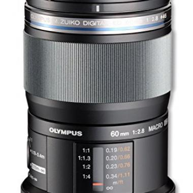 Olympus Objectif M.Zuiko Digital f2,8 ED 60 mm Macro Noir @ Amazon.fr