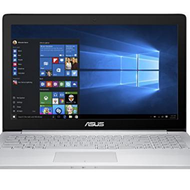 PC Portable Asus Ultrabook 15,6″  – Intel Core i7 – 8 Go de RAM – Disque dur 1 To + SSD 128 Go – GTX960M @ Amazon.fr