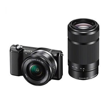 Sony ILCE-5000YB Appareil Photo Numerique Hybride Capteur APS-C , 20 Mpix, + Obj @ Amazon.fr