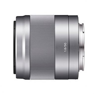 Sony Objectif SEL-50F18 Monture E APS-C 50 mm F1.8 – Argent @ Amazon.fr
