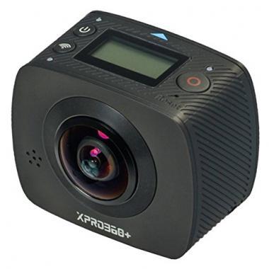 TecTecTec XPRO360+ Camera 360 Haute Resolution – 360 degres avec double lentille @ Amazon.fr