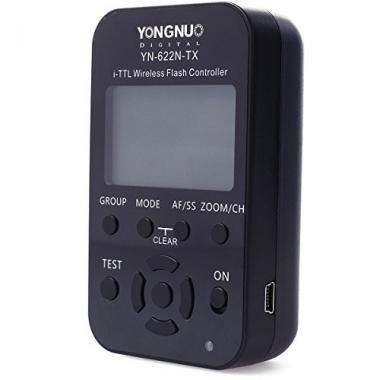 Yongnuo YN-622N-TX sans fil LCD i-TTL emetteur Trigger controleur de flash pour  @ Amazon.fr
