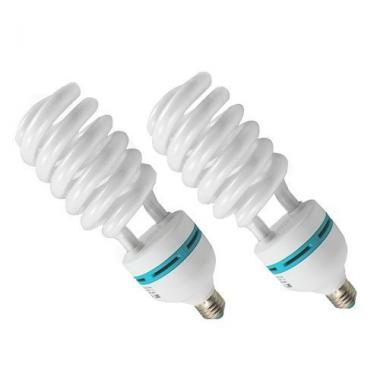 amzdeal Ampoule 2x135W E27 5500K Photo Eclairage continu Ampoule tubes Studio F @ Amazon.fr