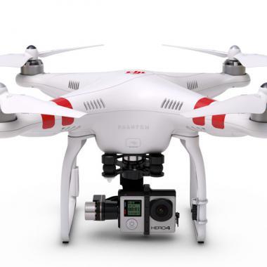 DJI Phantom 2 V2.0 Quadcopter – stabilisateur Zenmuse H4 3D pour GoPro 4 @ Lovinpix