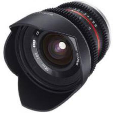 SAMYANG 12 mm T2.2 Cine NCS CS monture Micro 4/3 objectif video @ Miss Numerique
