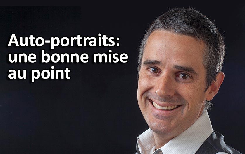 Cours Photo Gratuit: Bien faire sa mise au point lors d'un auto-portrait