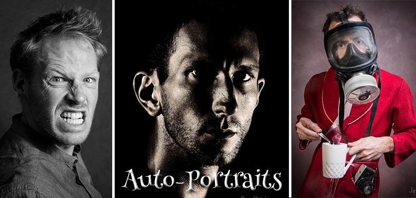 Gagnants du prix du jury du concours photo auto-portrait