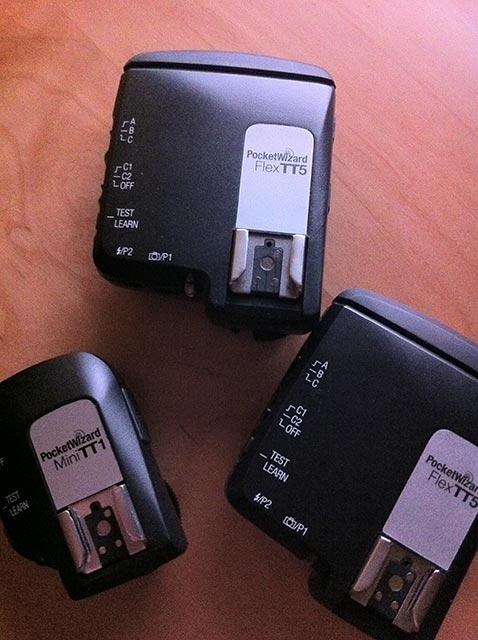 Système Pocket Wizard Flex TT5 - Crédit Photo Creative Commons Bracketing Life