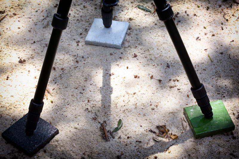 Bien utiliser son trépied sur le sable