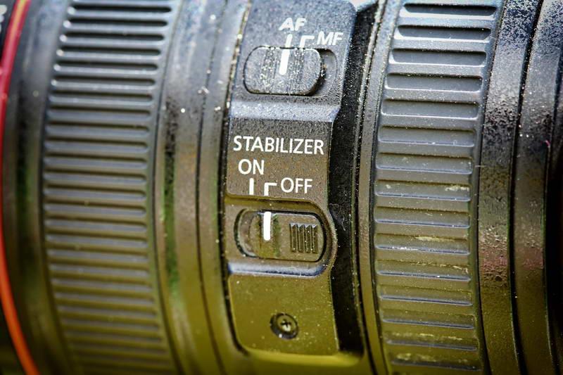 Bien utiliser son trépied photo: stabilisation optique