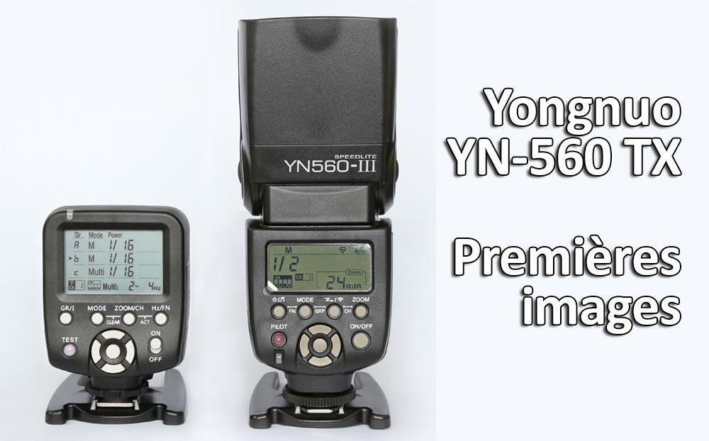 Yongnuo YN 560 TX premières images