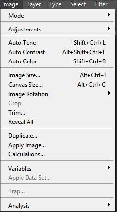 menu-photoshop-avec-raccourci-clavier