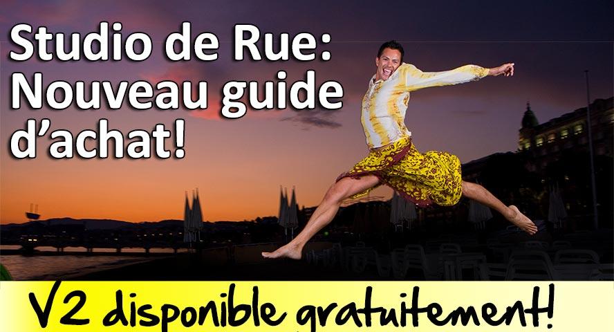 Guide d'achat du Studio de Rue flashs et declencheurs radio V2 disponible