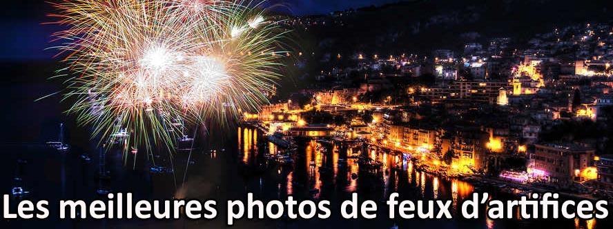 Les meilleures photos de feux d'artifice