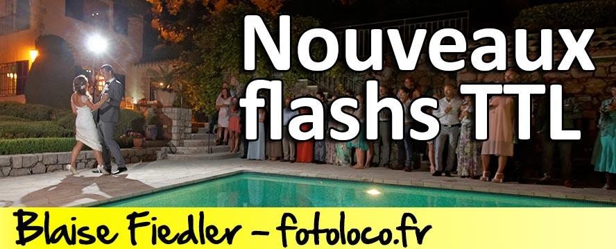 Nouveaux flashs TTL - bien choisir son flash TTL Godox V860 et Pixel Mago
