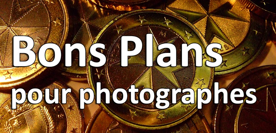 bons plans et codes de reduction pour photographes