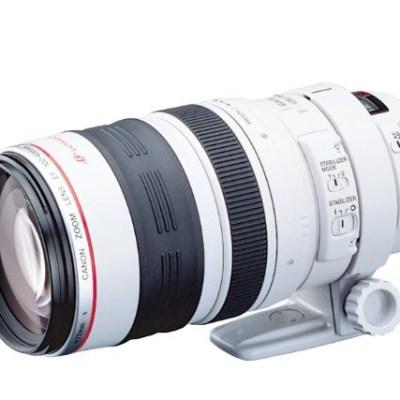 Canon EF Téléobjectif Zoom 100 / 400 mm f/4.5-5.6 L IS USM à 1294€ @ Amazon