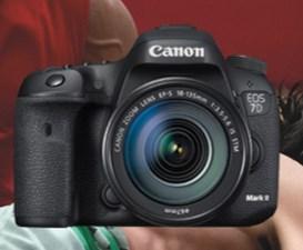 Canon 7D Mark II + Objectifs - jusqu'à 300€ remboursés @ Amazon