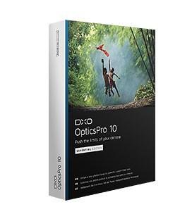 DxO Optics Pro 10 en promo