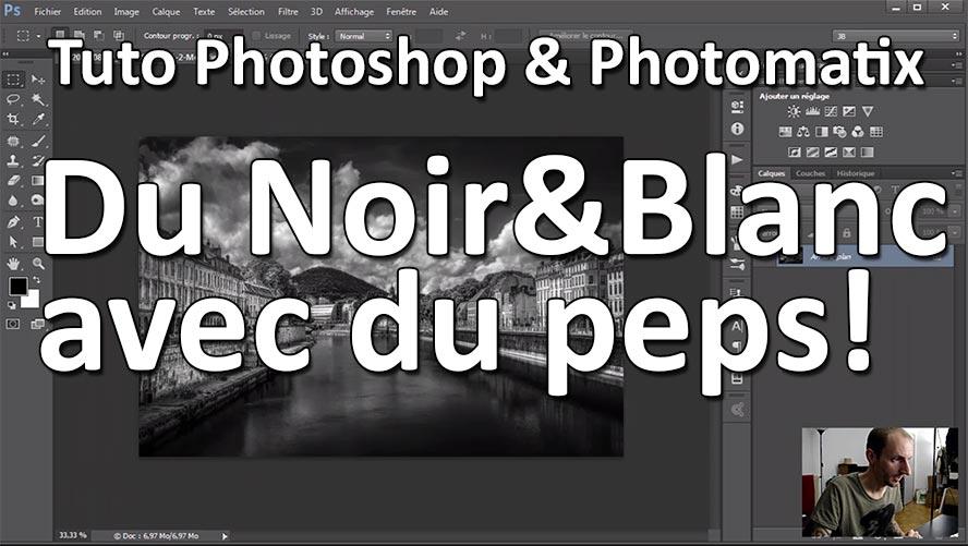 Tuto photoshop et photomatix noir et blanc avec du peps