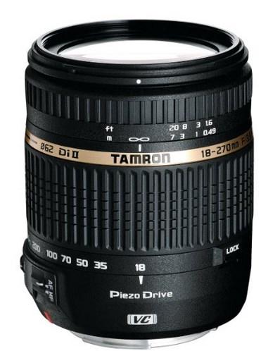 Tamron Objectif 18-270mm F/3,5-6,3 Di II VC PZD - Monture Canon à 299€ @Amazon