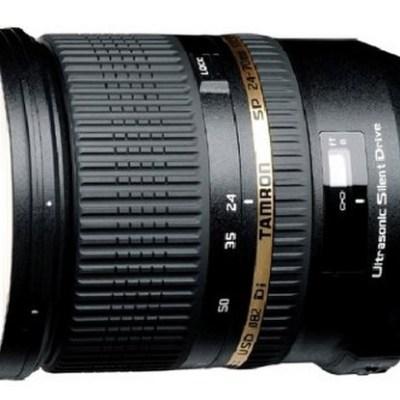 Tamron SP 24-70 mm F/2,8 Di VC USD - Monture Canon / Nikon / Sony - @ Amazon