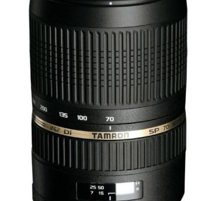 Tamron Objectif SP AF 70-300mm F/4-5,6 Di VC USD - Canon / Nikon / Sony