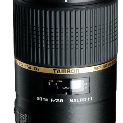 Tamron Objectif SP 90mm F/2,8 Di VC USD MACRO 1:1 - Nikon @ Amazon