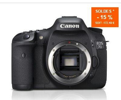 Canon 7D @ materiel.net