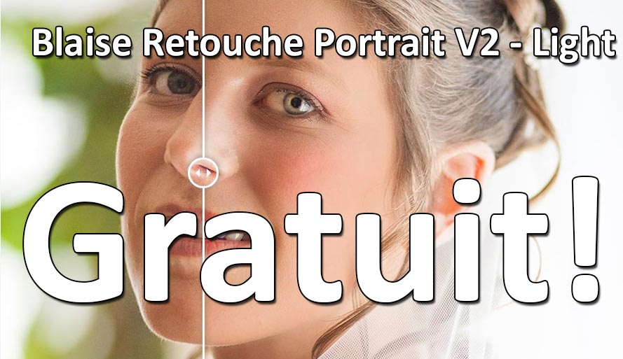 Blaise Retouche Portrait Light Gratuit