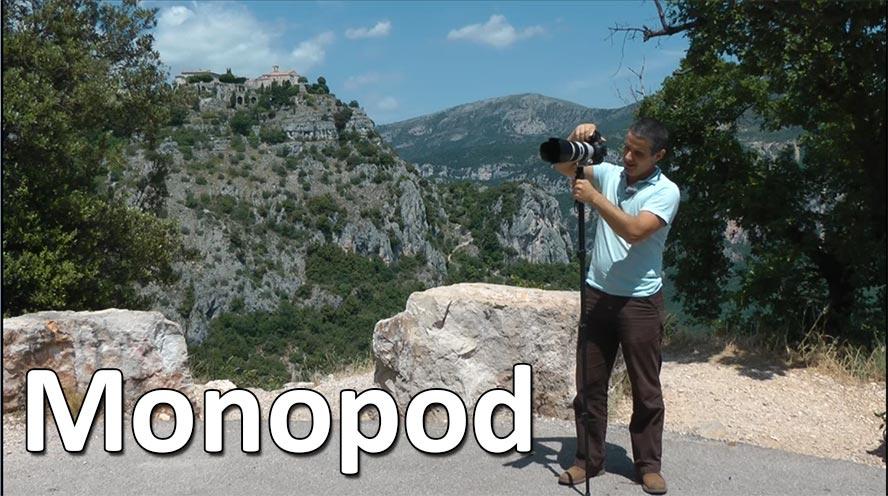 Comment utiliser un monopod monopied