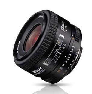 Objectif Nikon AF 35mm f/2D