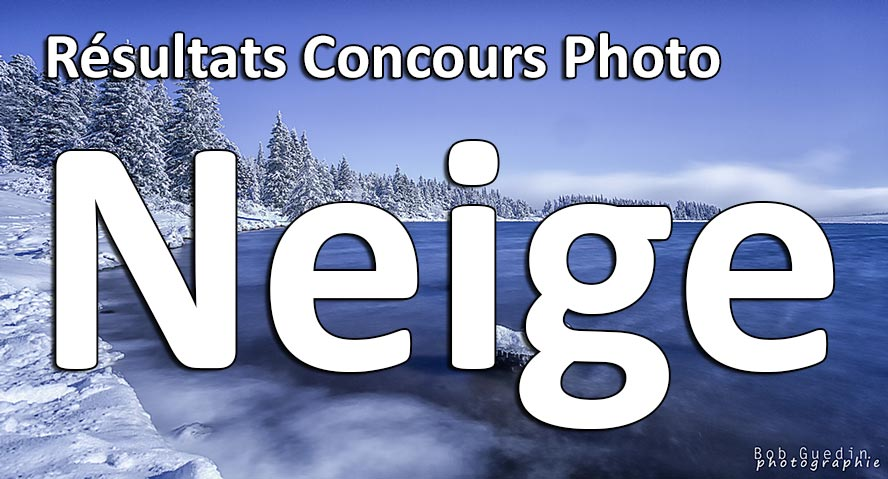 Resultats concours photo neige