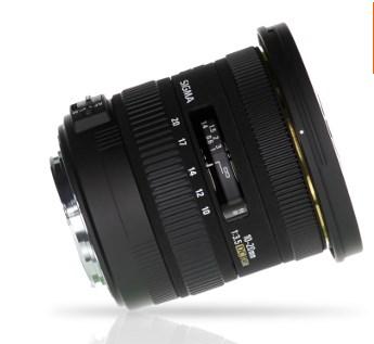 Objectif Sigma 10-20 f/3.5 DC EX HSM pour Canon @ Materiel