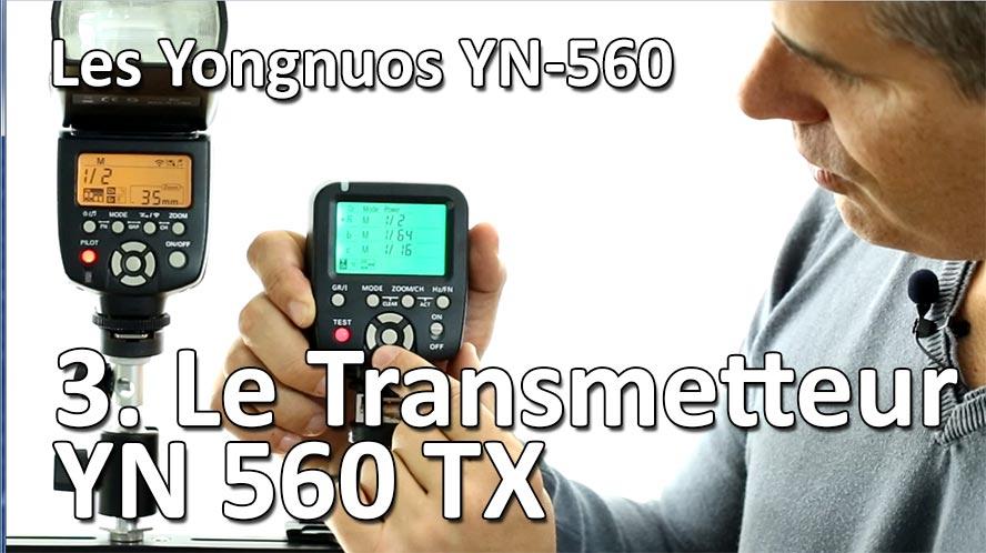 Studio de Rue Strobist Transmetteur Yongnuo YN 560 TX