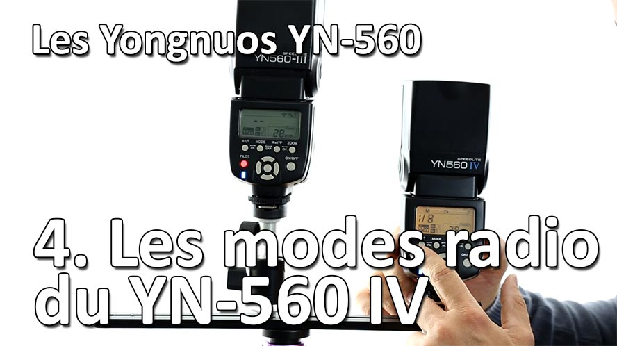 Studio de Rue Strobist Maitriser le Yongnuo YN 560 IV