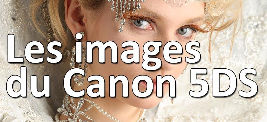 Les premières images du Canon 5DS