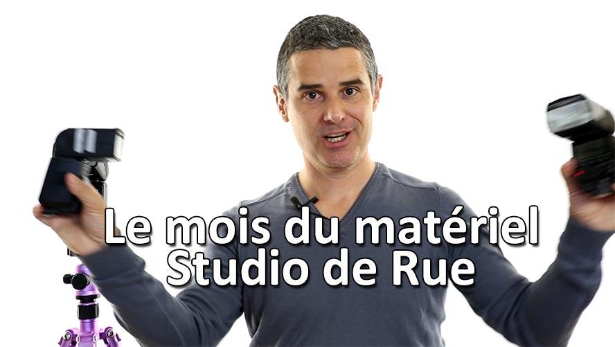 Le mois du matériel Studio de Rue Strobist