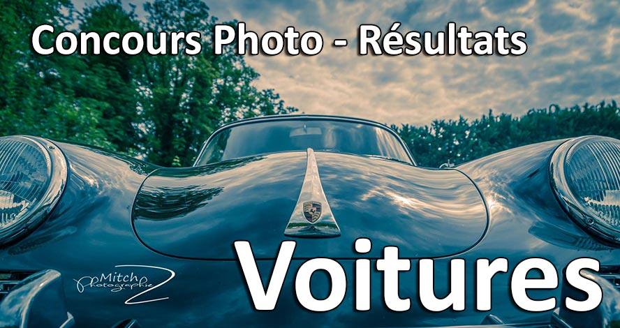 Résultat du concours photo voitures