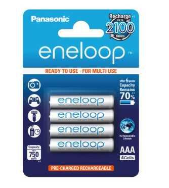 Eneloop Panasonic AAA @ Amazon / iCell