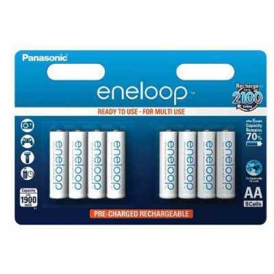 8 piles AA Eneloop